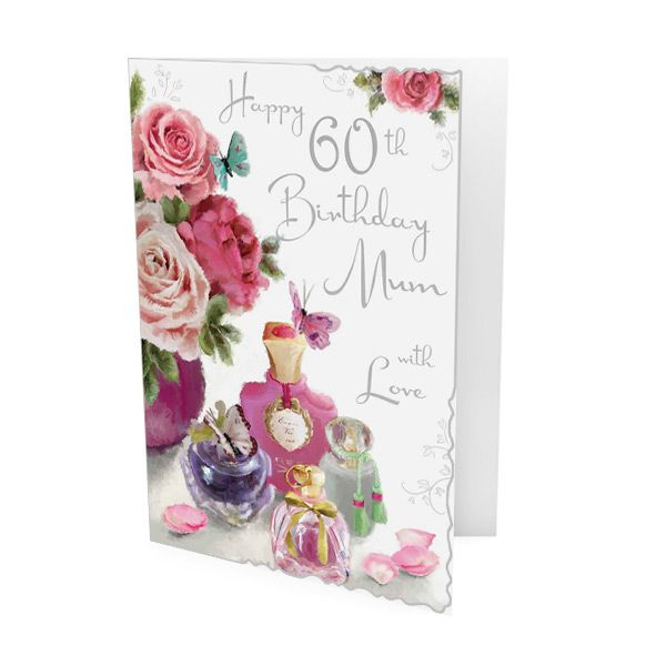 Mum 60th birthday card bookmarktalkfo Image collections