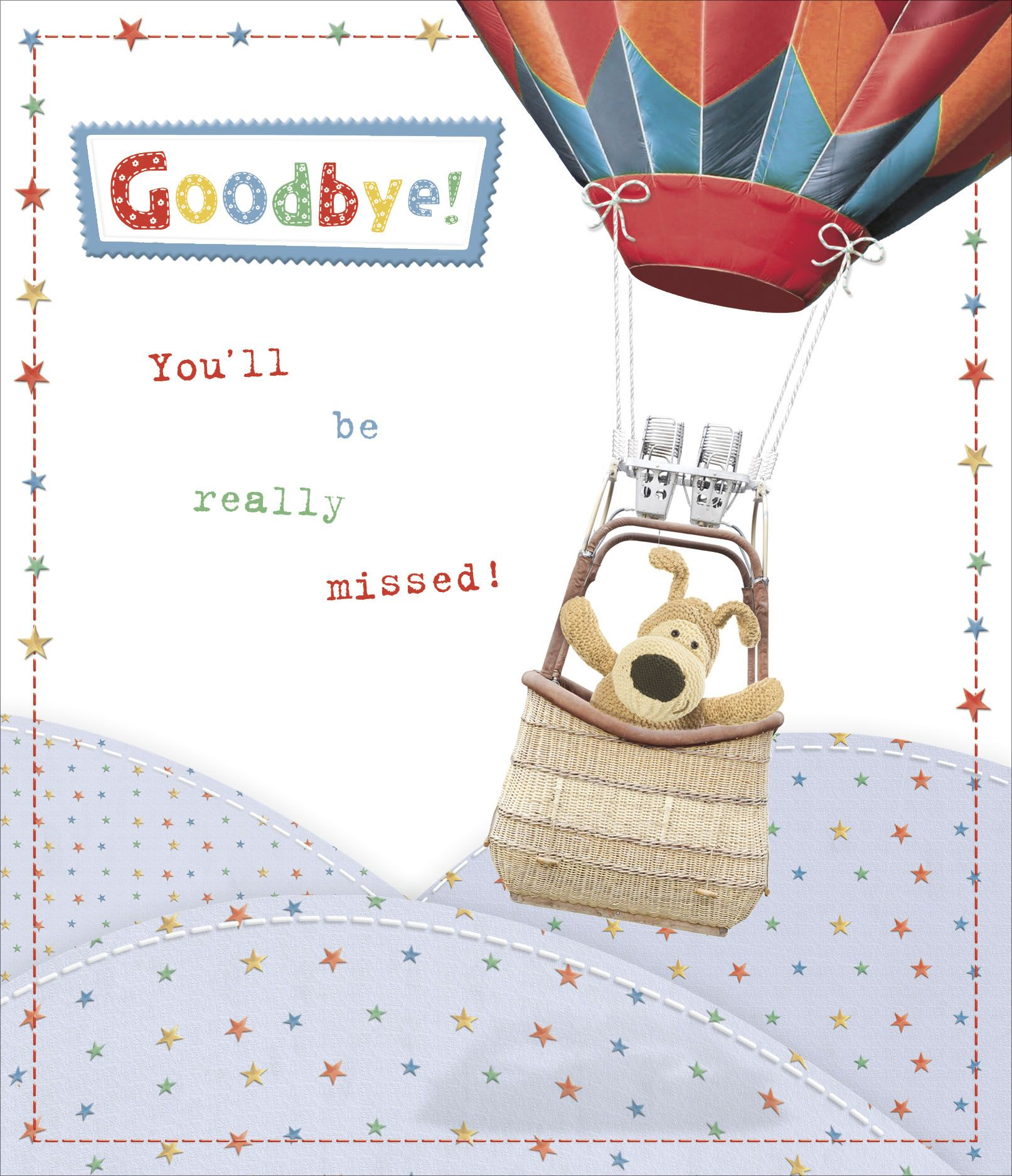 Boofle goodbye greeting card kristyandbryce Image collections