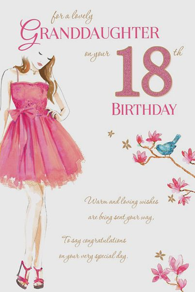 Christmas Gift For 18 Year Old Grandson Images Gallery Granddaughter 18th Birthday Card
