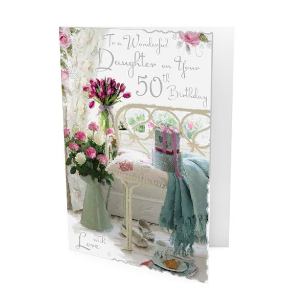 Daughter 50th Birthday Greeting Card