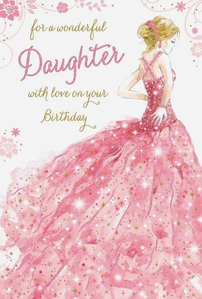 A Wonderful Daughter Birthday Card