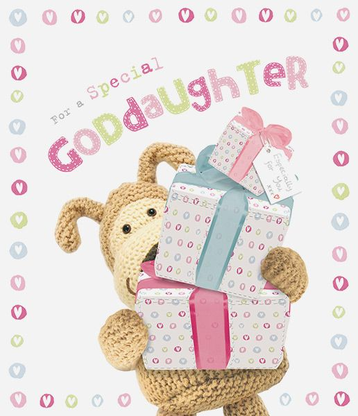 Boofle Goddaughter Birthday Card 43811 P