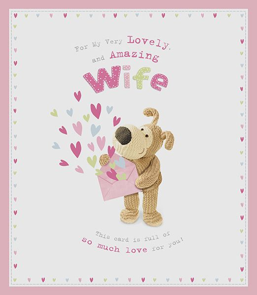 Large Boofle Wife Birthday Card 42899 P