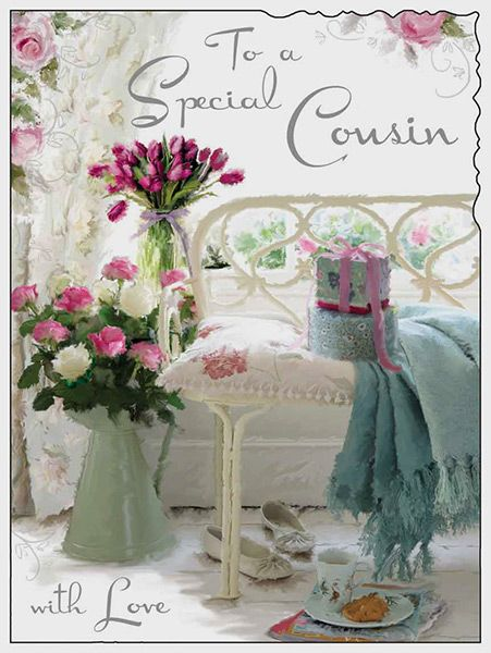Special Cousin Happy Birthday Card 41869 P