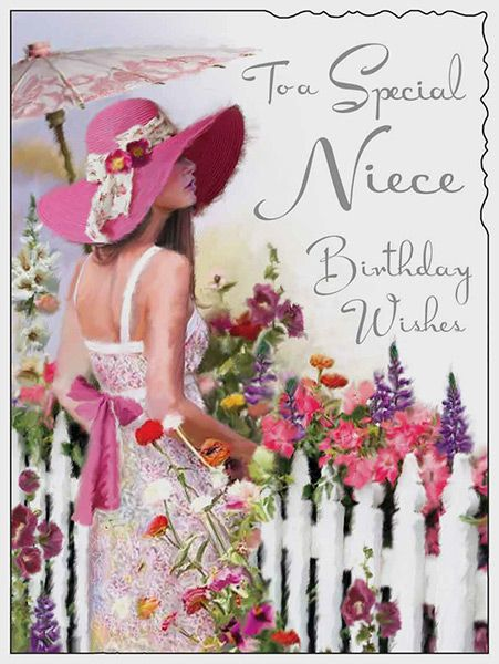 Special Niece Wishes Birthday Card